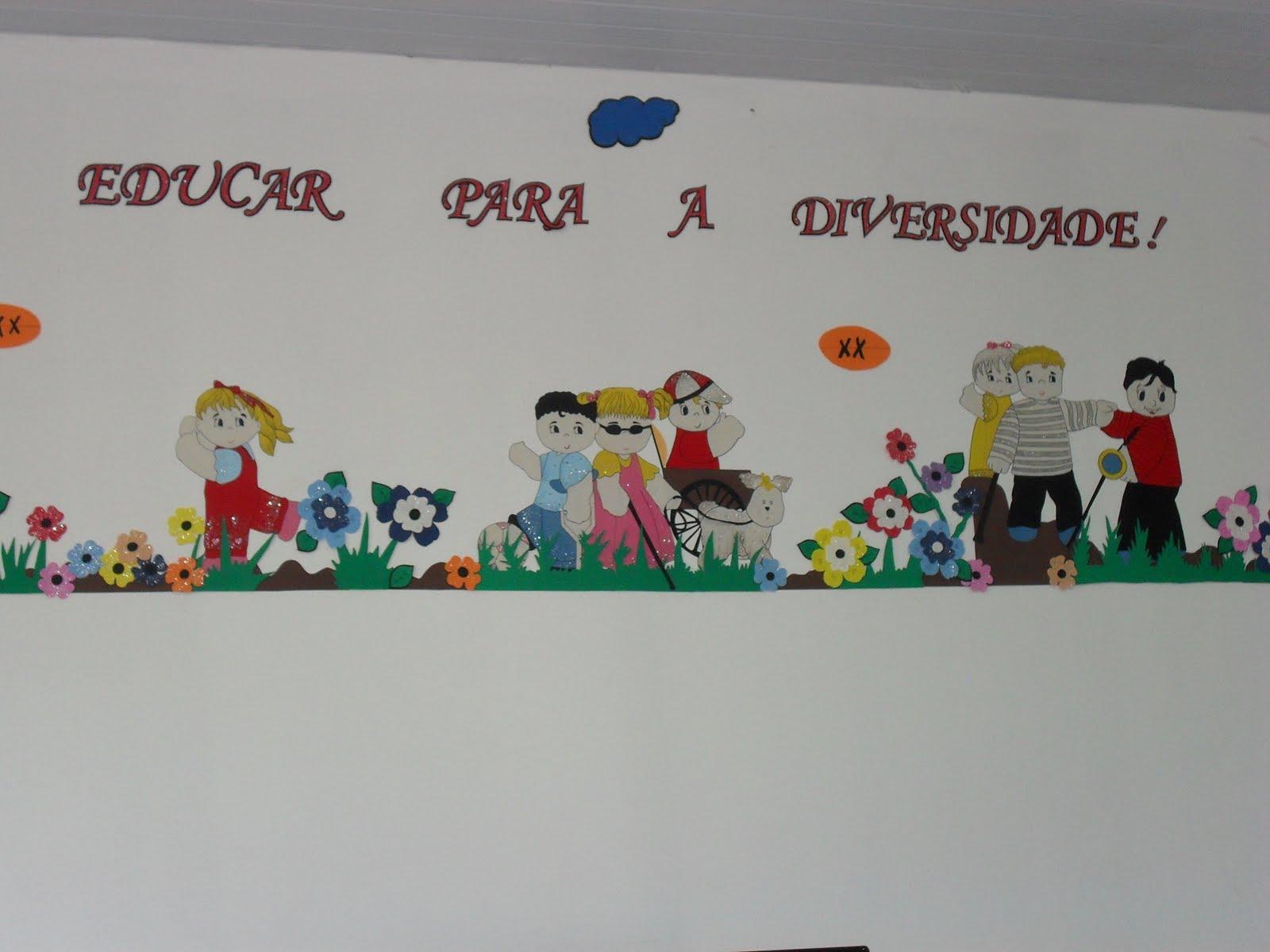 Escola Em Movimento Agosto 2011 -> Decoracao Para Sala De Aee