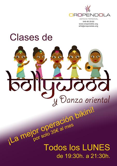 Oropéndola, Guadalajara, Bollywood, baile, operación bikini, ponerse en forma bailando, danza oriental, danza del vientre, divertirse, bailar, baile indio,