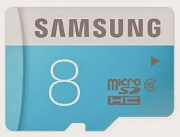 Samsung MicroSDHC 8 GB Class 6 for Rs.132 Only @ Paytm (Rs.150 Cashback)