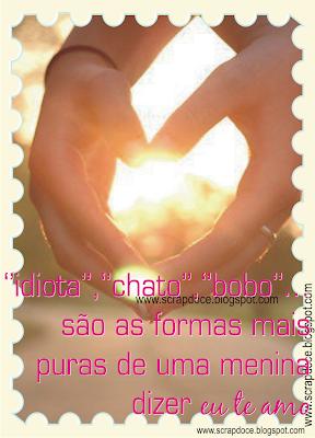 Foto Mensagem de Amor/Amizade para Compartilhar no Facebook