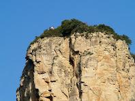 La Trona des del Coll de la Pedra Dreta