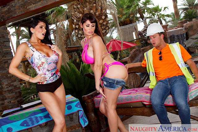 Eva Karera, Romi Rain - Wives on Vacation