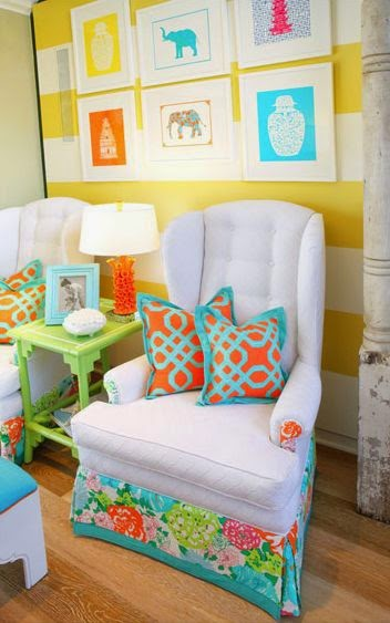 Eye For Design: Decorating Palm Beach Preppy Style