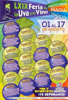 feria de la uva y el vino parras coahuila 2014