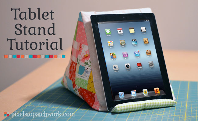 ipad tablet pillow pattern