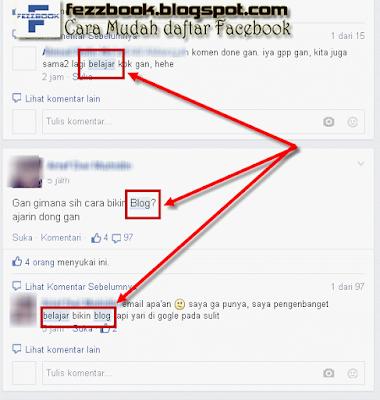 mencari nama kata di grup facebook
