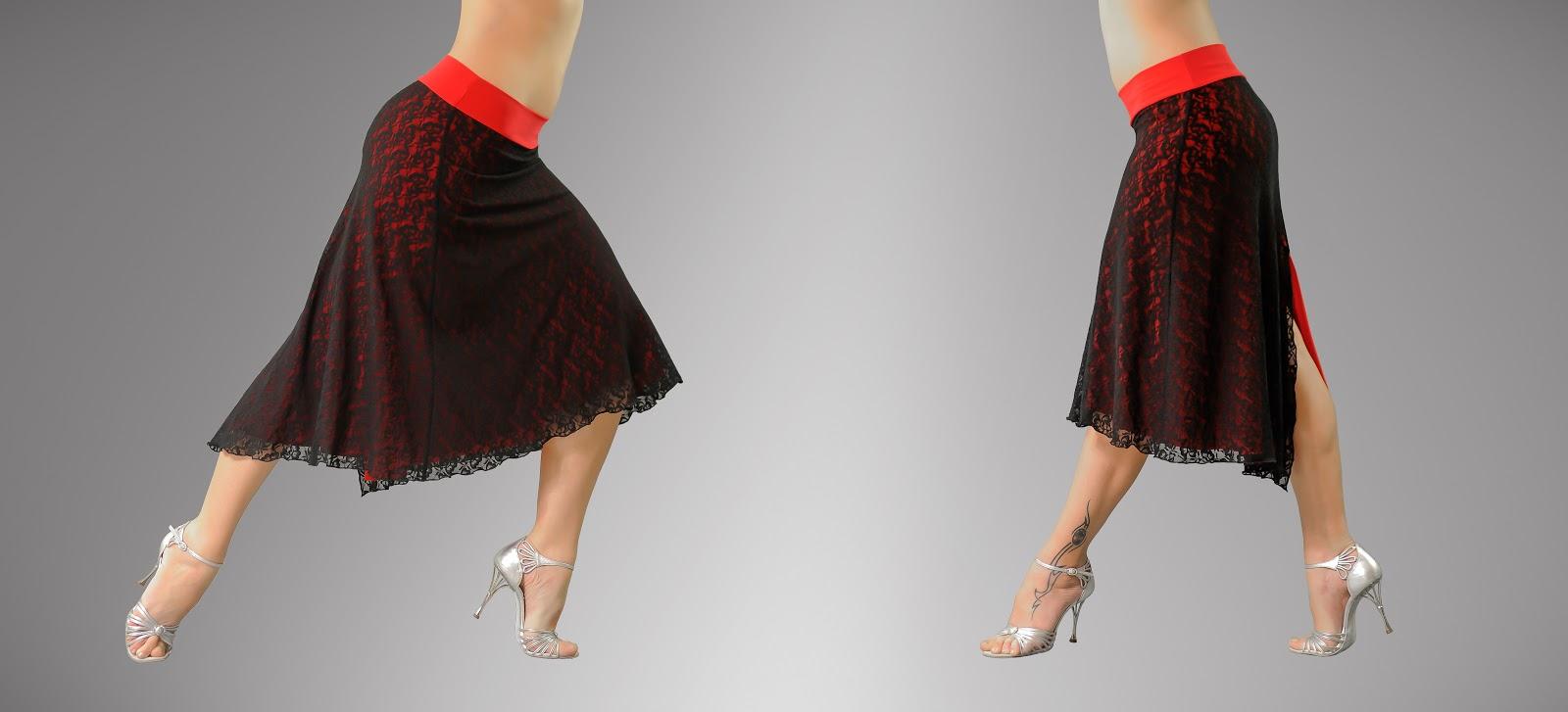 Юбка танго своими руками