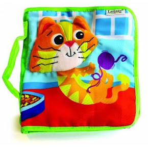 Lamaze Mittens The Kitten Cloth Book