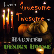 Check out the Haunted Design House Challenge