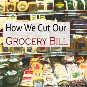 how to cut, your, grocery, bill, without, coupons