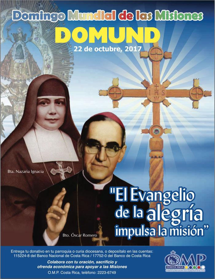 Domingo Mundial de las Misiones - Domund - 22 de octubre de 2017