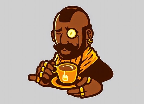 I pity the fool who doesn't enjoy compost tea.