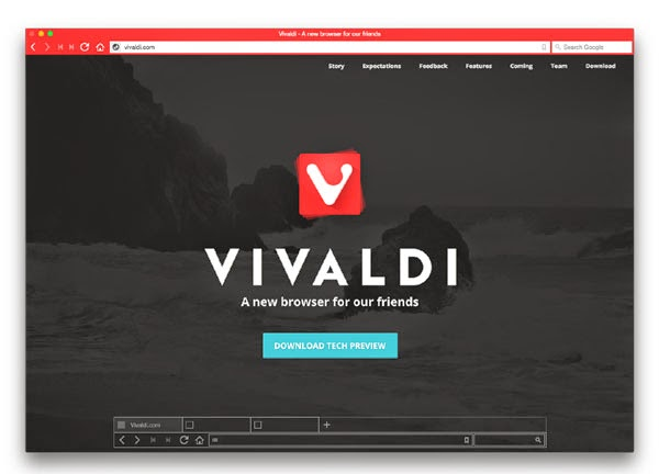 Vivaldi for Mac