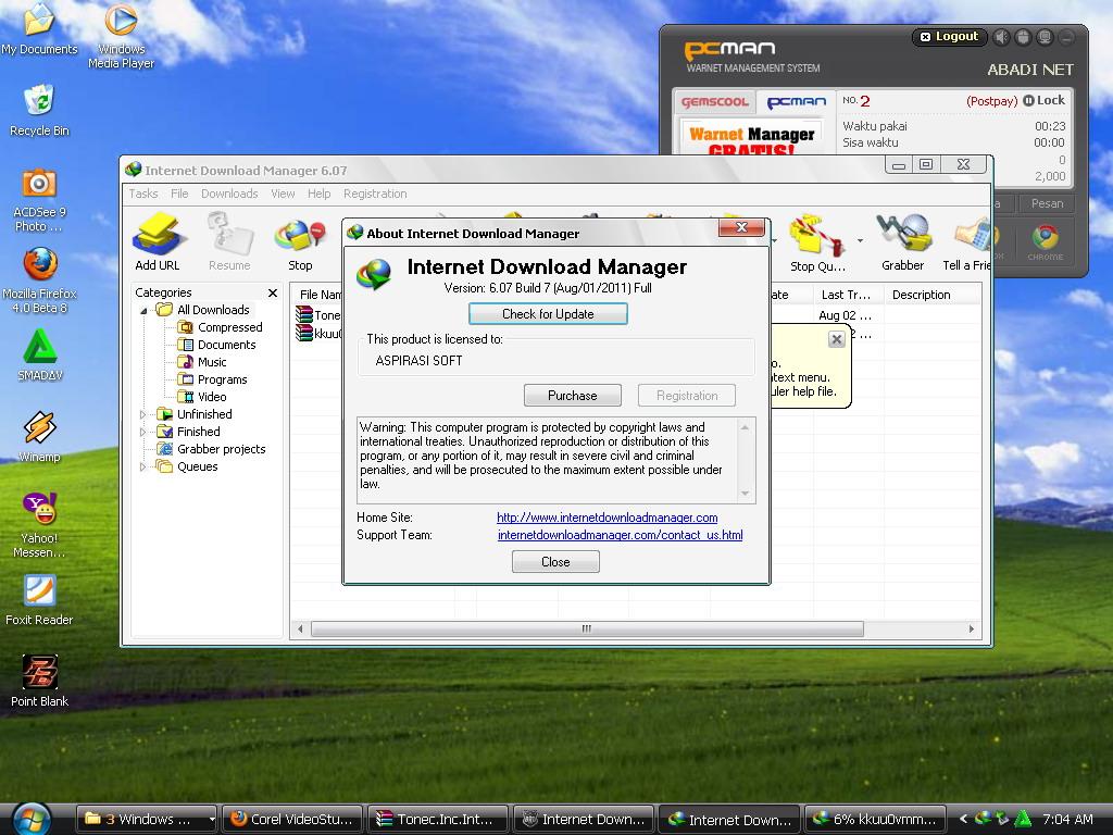 حصريا عملاق تحميل الملفات  على الانترنت Internet Download Manager 6.07 Build 10 Final