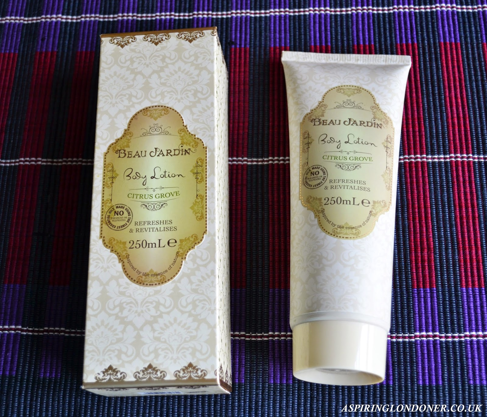 Heathcote ivory vintage beauty aspiring londoner for Beau jardin hand cream collection