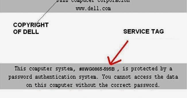 dell d610 admin password reset