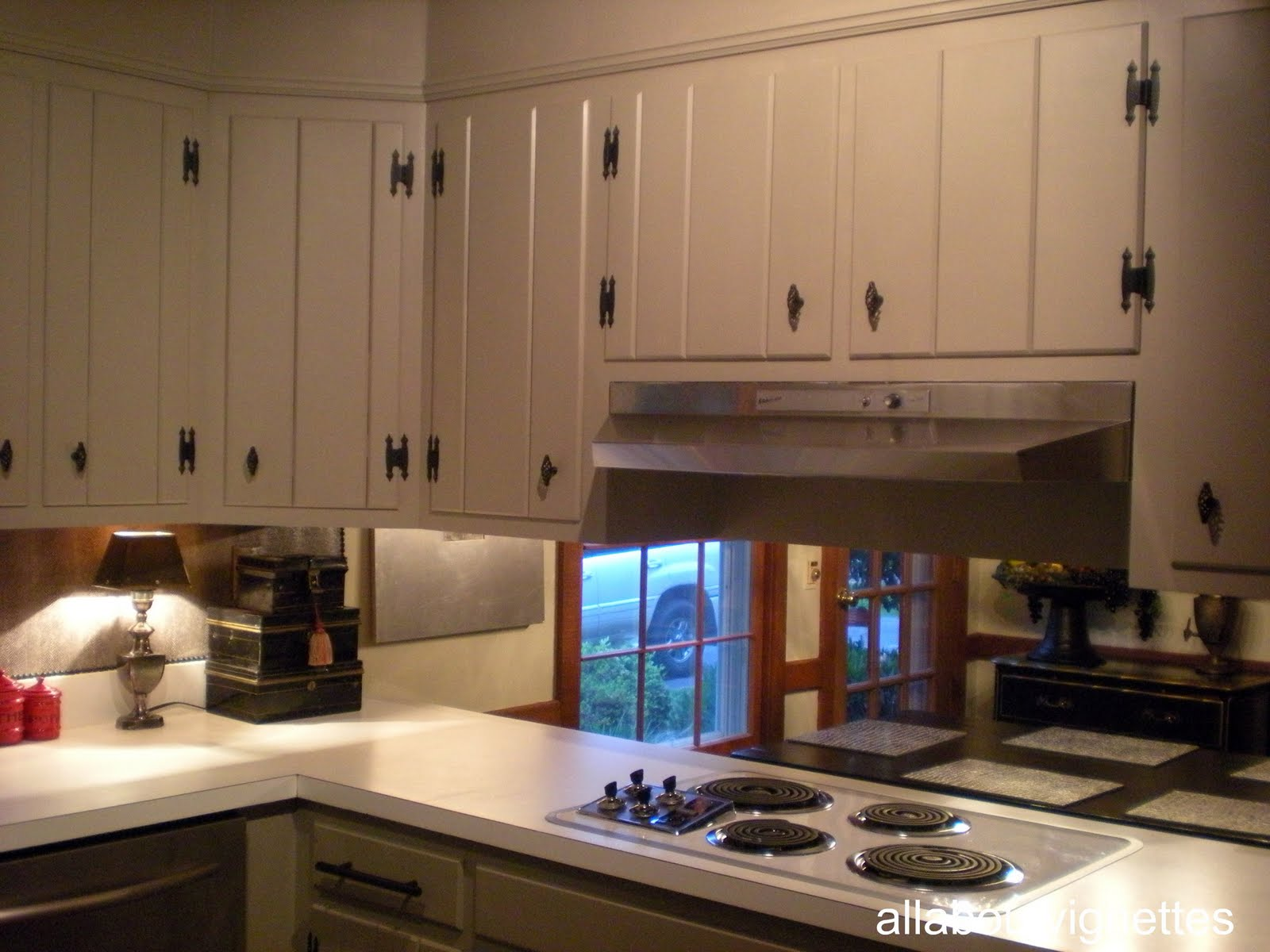Knotty Pine Kitchen Cabinets Makeover