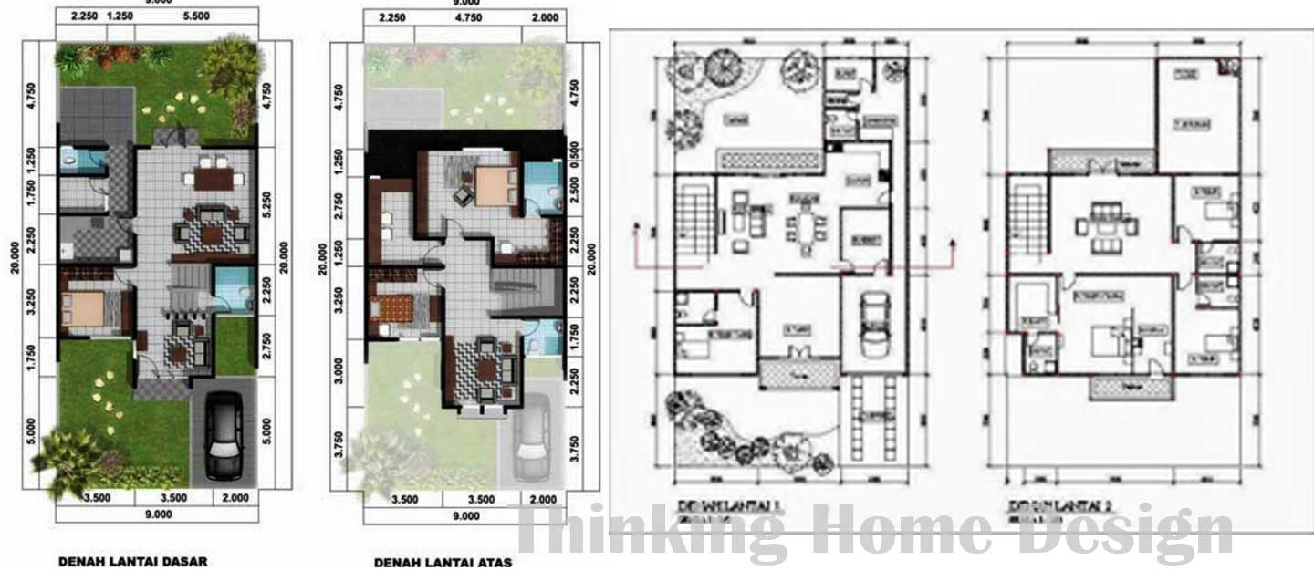 Minimalist House Plans Medemco Also Images Modern Plan