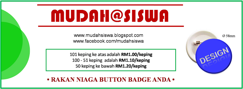 MUDAH SISWA : RAKAN NIAGA BUTTON BADGE ANDA