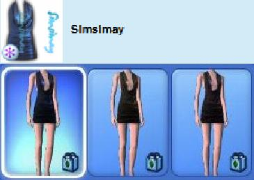 bad size dress sims 3