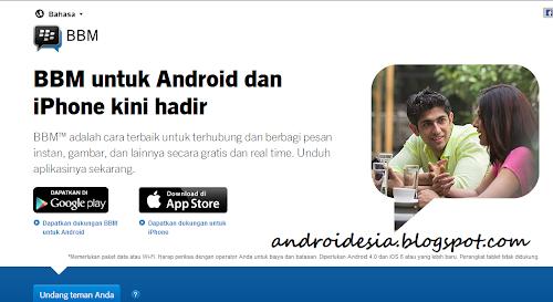 resmi BBM android