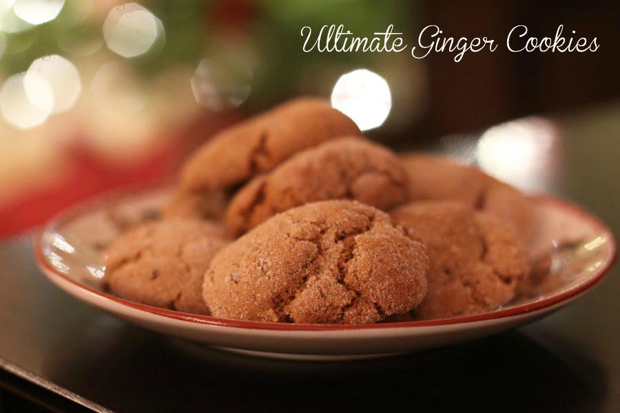 Ina garten ginger molasses cookies recipe