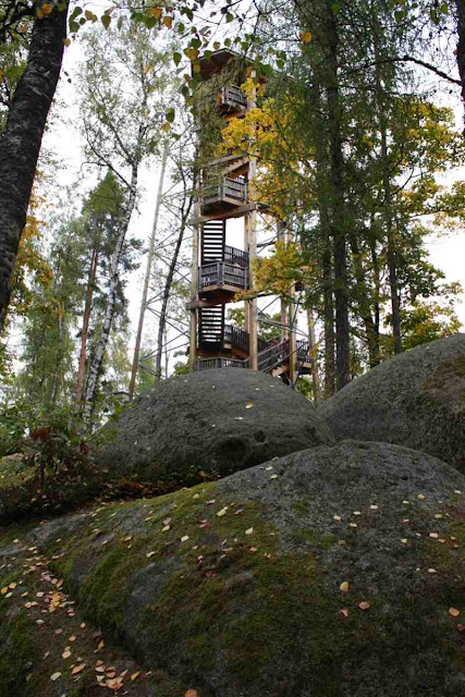 Aussichtsturm in der Blockheide © Copyright Monika Fuchs, TravelWorldOnline