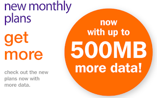 Up to 500 MB more data