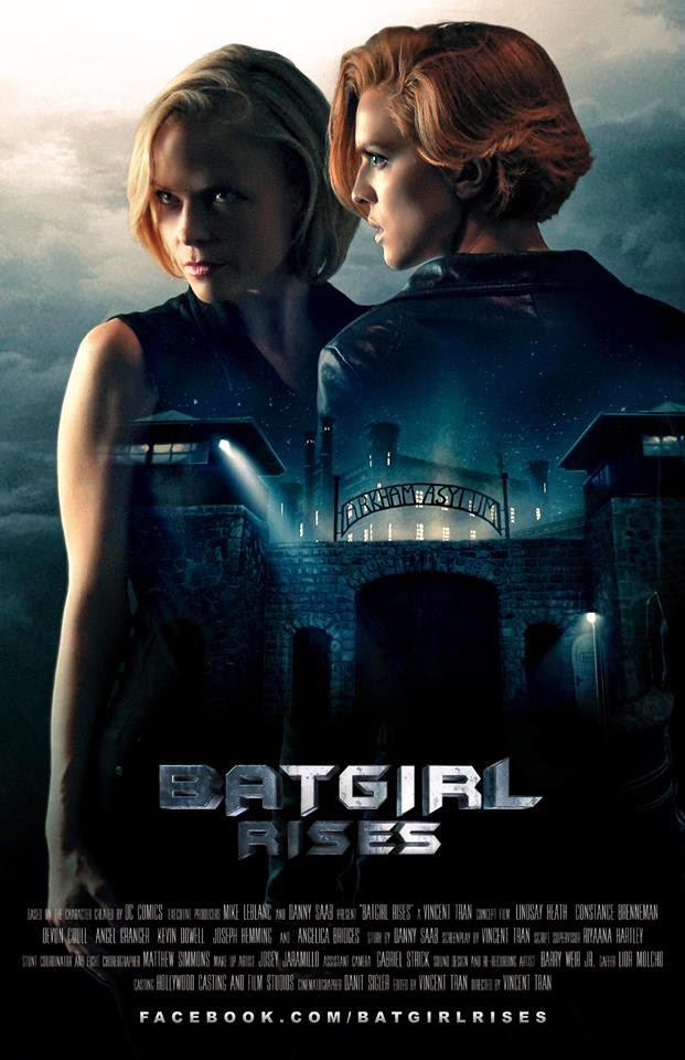 Batgirl Rises Movie Poster