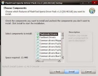 Install Driver Xperia L