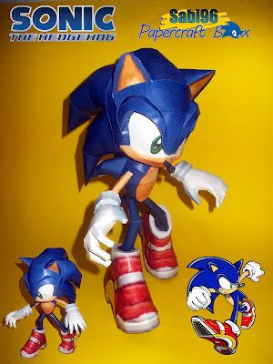 Sonic the Hedgehog Papercraft