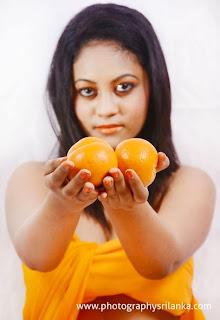 Natalie Hewage orange