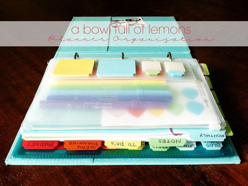 Planner Organization A Bowl Full Of Lemons