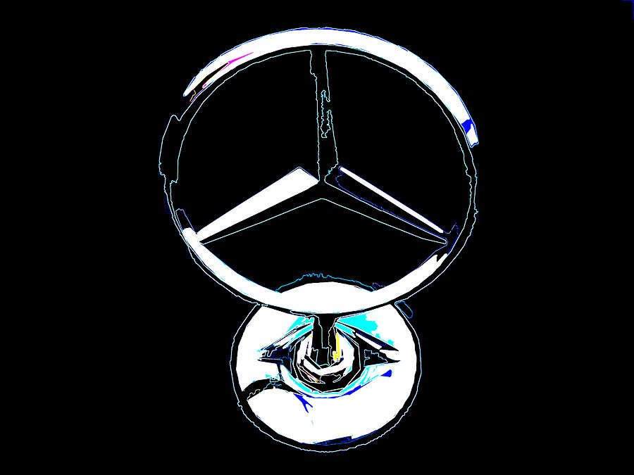 Mercedes-benz logo - 9500