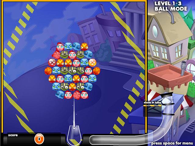 لعبة الفقاعات الملونة Bubble Town