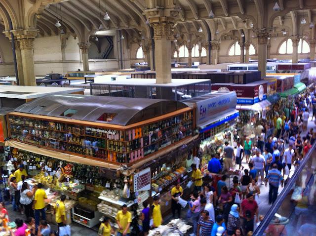 Mercado municipal de Sao Paulo