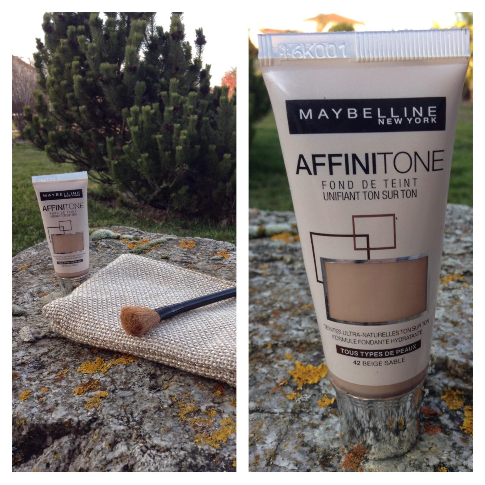 Sur Le De Fond Mfc Maybelline BeautyRevue Affinitone Teint NO8mnw0yv