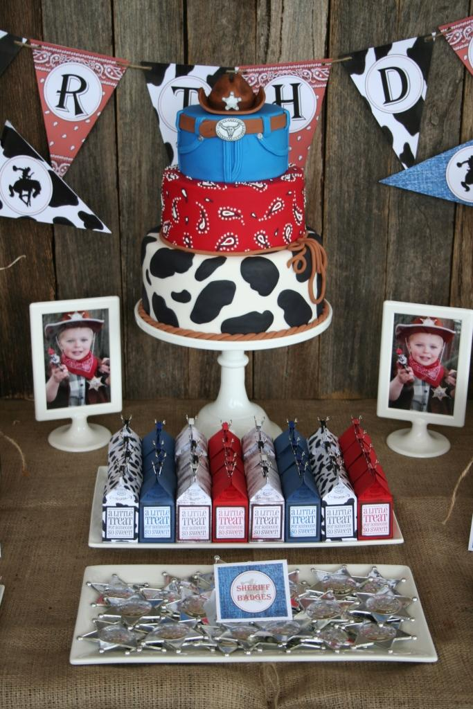 Leonie's Cakes and Parties . . . . .: Cowboy Party - Ethan ...