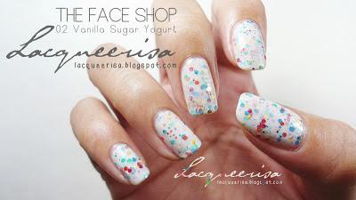 Lacqueerisa: The Face Shop - 02 Vanilla Sugar Yogurt