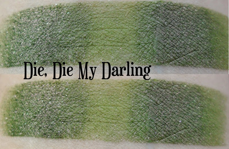 Darling Girl Die, Die My Darling Swatch