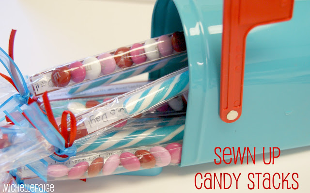 Sewn Up Candy Stacks