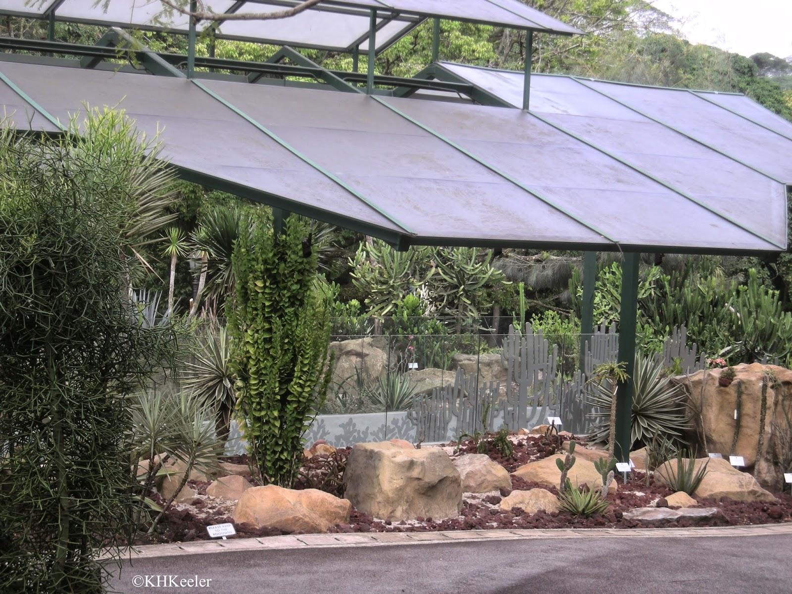 cactus house, Singapore Botanic Garden