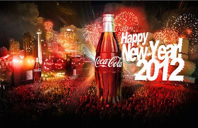 Coca Cola les desea un Feliz Año Nuevo 2012 - Happy New Year - Coke
