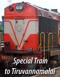 Tiruvannamalai special train
