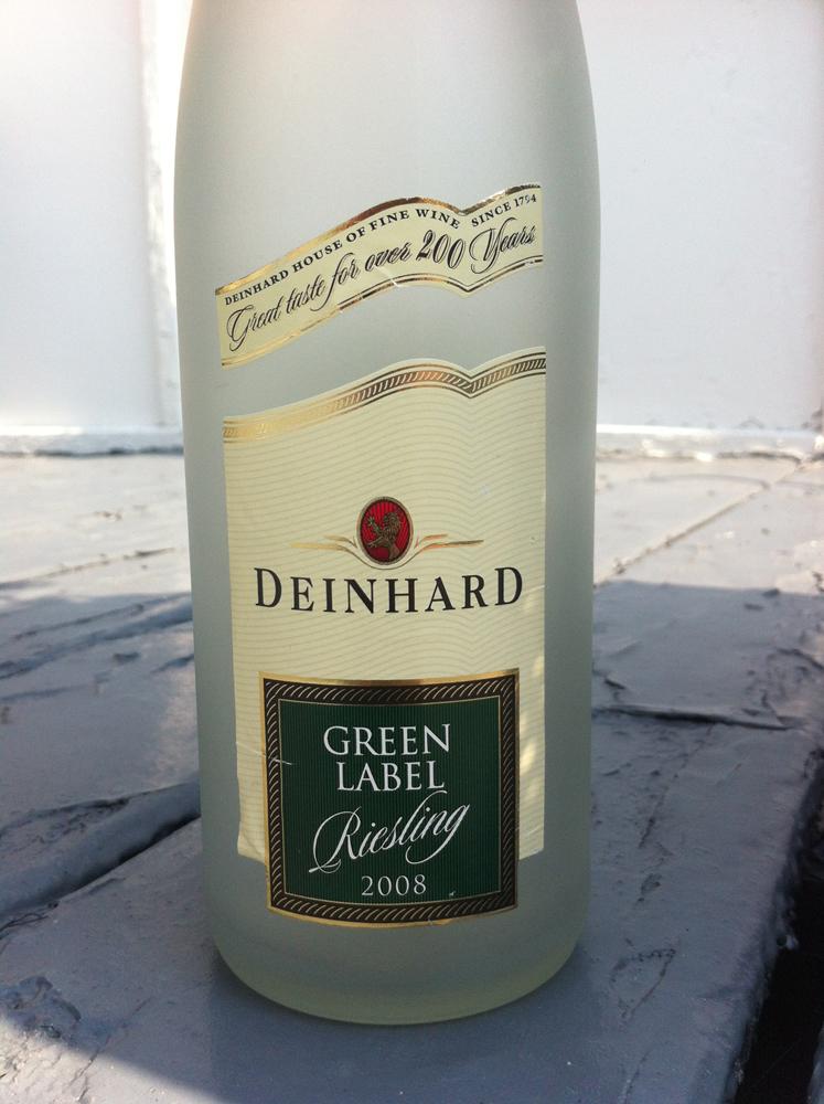 Vigna uva vino deinhard green label riesling 2008 mosel for Deinhard wine