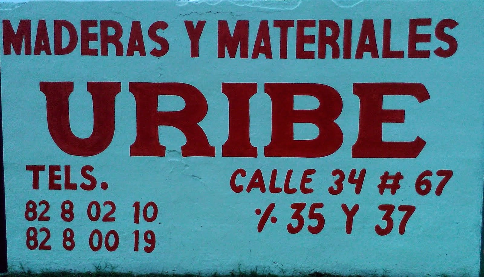 MADERAS Y MATERIALES URIBE