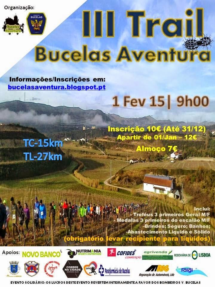 Trail de Bucelas 1 de Fevereiro de 2015