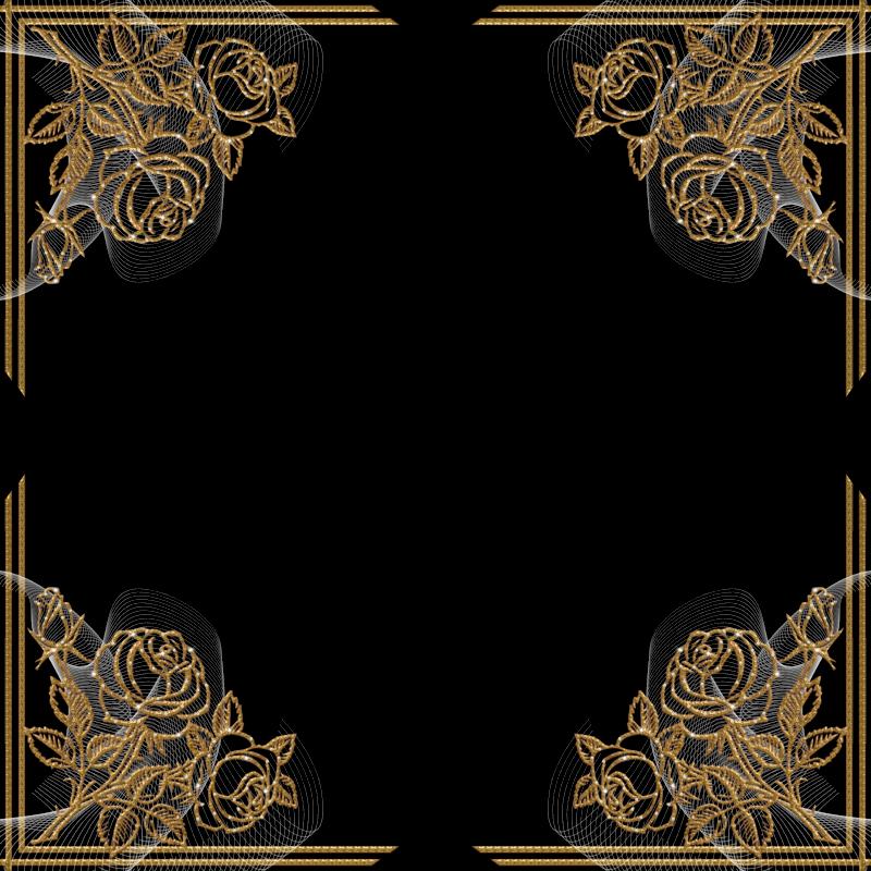 7 bellos bordes dorados para fotos gratis en png marcos for Marcos de fotos dorados