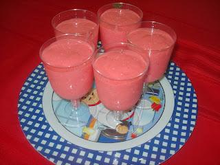 Postre Fresas con Gelatina