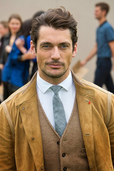 hairstyle advice david gandy britains top male model